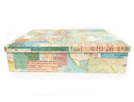 Caixa Arquivo World Atlas