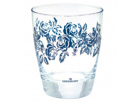 Copo de Vidro Fleur Blue