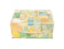 Caixa com Imã World Atlas
