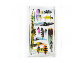 Vaso Feather Tiffany - Transparente - Fringe Studio