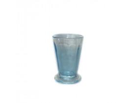 Copo Vidro 15x10cm Dia Azul - Des Pots