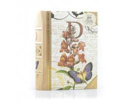 Caixa Livro D Capa com 20 Cartões e Envelope - Punch Studio
