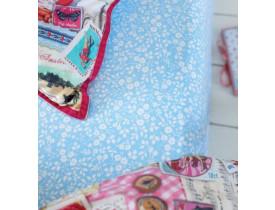 Lençol com Elástico Lovely Branches Azul King - Pip Studio