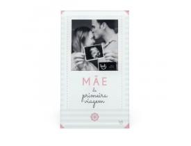 Porta Retrato Cartão Mãe Primeira Viagem - Ludi