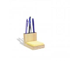 Porta-lápis e Papel Pinus