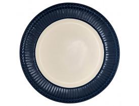 Prato de Jantar Alice Azul Escuro - Greengate