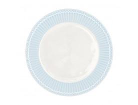 Prato de Sobremesa Alice Azul Claro 23 cm - Greengate