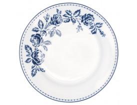 Prato de Sobremesa Fleur Azul 20,5 cm - Greengate