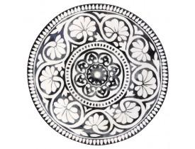 Prato de Sobremesa Sasha Preto 20,5 cm - Greengate