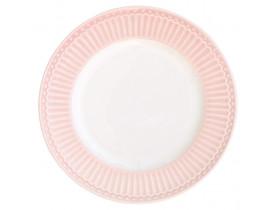 Prato Sobremesa Alice Rosa Claro 23 cm - Greengate