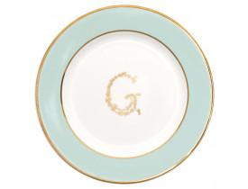 Prato Pão G Mint 15 cm - Greengate