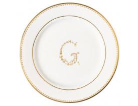Prato de Sobremesa G Ouro 20,5 cm - Greengate
