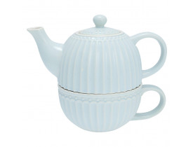 Chá para Um Azul Claro