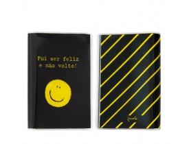 Capa para Passaporte - Carinha sorria - Fricote