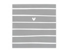 Pacote de Guardanapo Lovely Day Stripes - Bastion