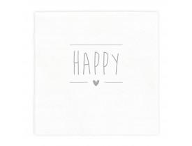 Pacote de Guardanapo Happy - Bastion