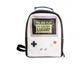 Lancheira Termica Mochila Game Geek - Uatt